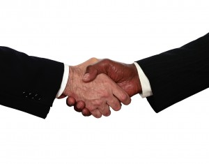 Business Men Shaking Hands